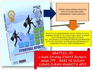 GRATIS …!! e_book Strategi Efektif Berkarir dalam JFP