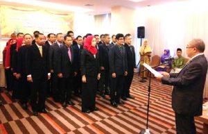 Pengukuhan Pengurus AP2I Komisariat Provinsi Riau