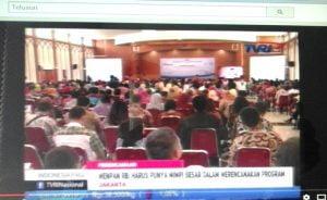 FORUM DISKUSI NASIONAL PERENCANA ON TVRI NEWS