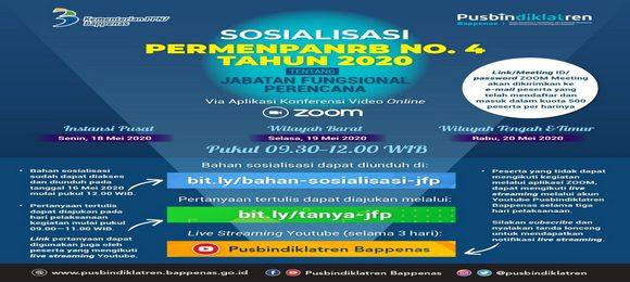 Sosialisasi PERMENPANRB No 4 Tahun 2020 Tentang JFP